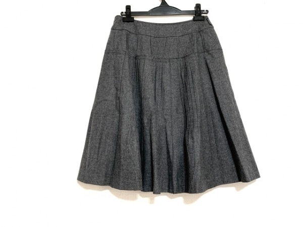 ソニアリキエル ロングスカート サイズ40 M レディース美品  ダークグレー