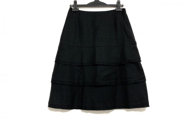 SONIARYKIEL(ソニアリキエル) スカート サイズ40 M レディース美品  黒