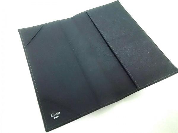 Cartier(カルティエ) 手帳 サントス 黒 レザー 3