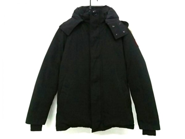 CANADA GOOSE(カナダグース) ダウンジャケット サイズM/M M メンズ 3433JM 黒 冬物