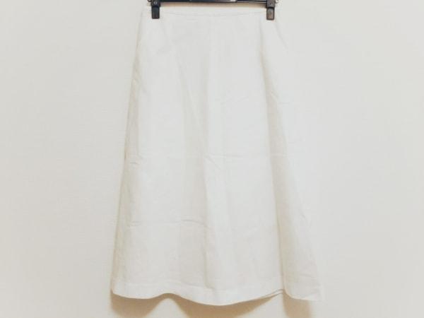 ダーマコレクション ロングスカート サイズ64 レディース美品  アイボリー