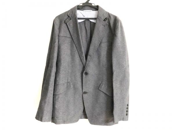 JOSEPH HOMME(ジョセフオム) ジャケット サイズ48 XL メンズ 黒×グレー
