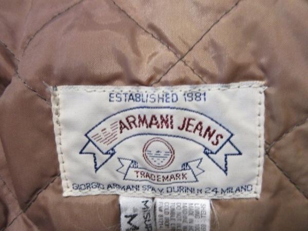 ARMANIJEANS(アルマーニジーンズ) コート サイズM メンズ カーキ