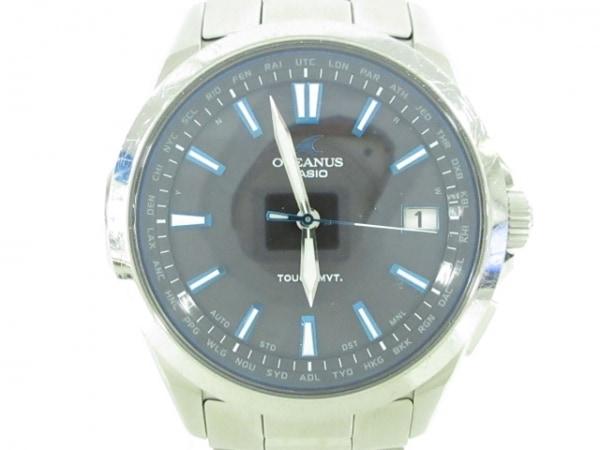 CASIO(カシオ) 腕時計 OCEANUS OCW-S100 メンズ 黒