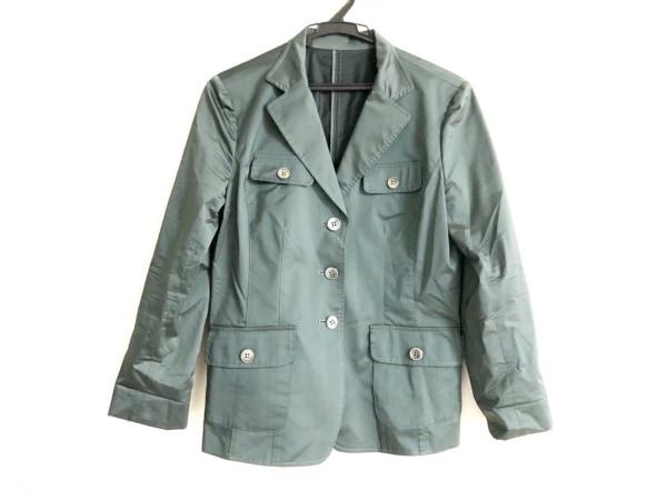 Leilian(レリアン) ジャケット サイズ9 M レディース美品  グリーン