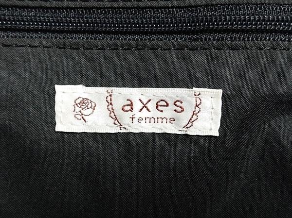 axes femme(アクシーズファム) リュックサック カーキ リボン ナイロン