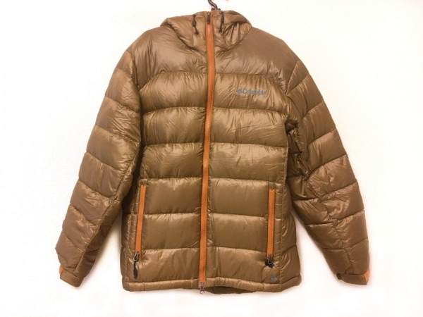 columbia(コロンビア) ダウンジャケット サイズM メンズ ダークブラウン 冬物