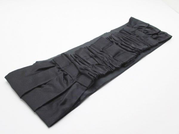 クリスチャンディオールムッシュ ベルト M/L美品  黒 サテン