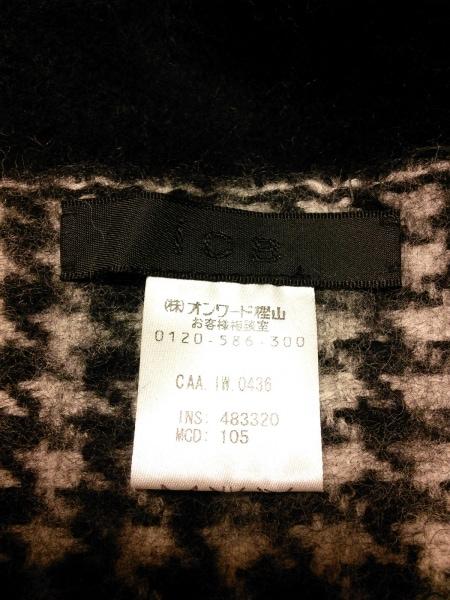 ICB(アイシービー) ポンチョ レディース 黒×白