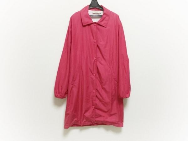 MAISON KITSUNE(メゾンキツネ) コート サイズS レディース美品  ピンク 春・秋物