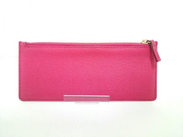 FENDI(フェンディ) 長財布 ズッカ柄 8M0326 ブラウン×黒×ピンク 8
