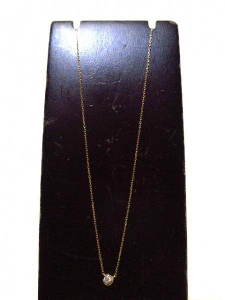 STAR JEWELRY(スタージュエリー) ネックレス美品  K18PG×ダイヤモンド