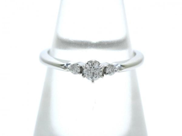 STAR JEWELRY(スタージュエリー) リング美品  K18WG×ダイヤモンド