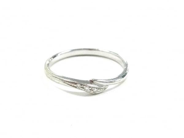 STAR JEWELRY(スタージュエリー) リング K10WG×ダイヤモンド 3Pダイヤ/0.01カラット