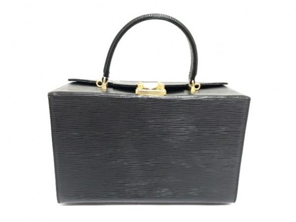 FENDI(フェンディ) ハンドバッグ - - 黒 型押し加工 レザー