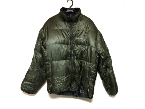 mont-bell(モンベル) ダウンジャケット サイズL メンズ美品  カーキ 冬物