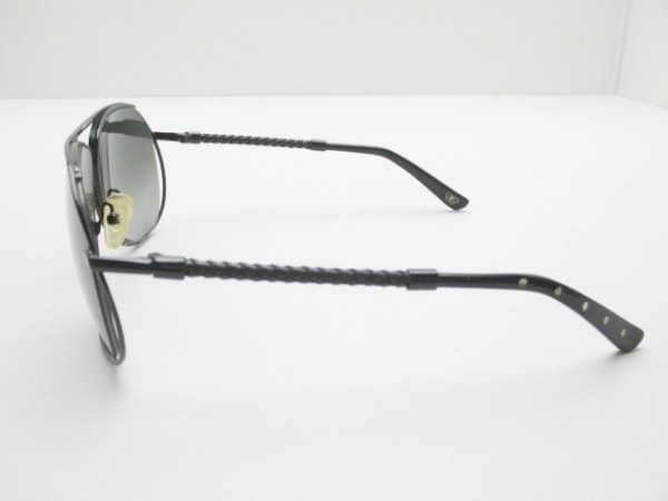ボッテガヴェネタ サングラス イントレチャート BV106/S 黒 プラスチック×金属素材