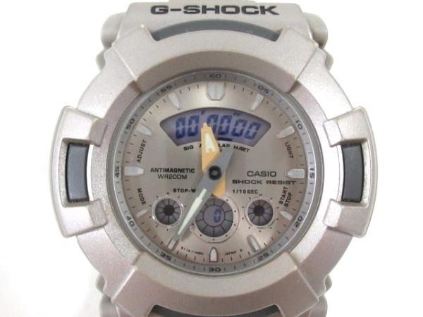 CASIO(カシオ) 腕時計 G-SHOCK AW-510 メンズ シルバー