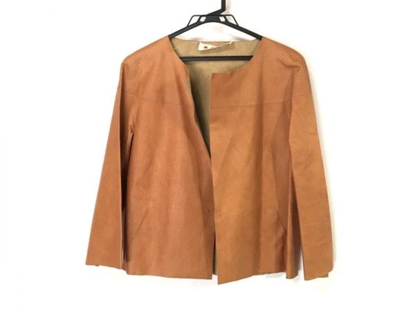 MARNI(マルニ) ジャケット サイズ40 M レディース ブラウン レザー
