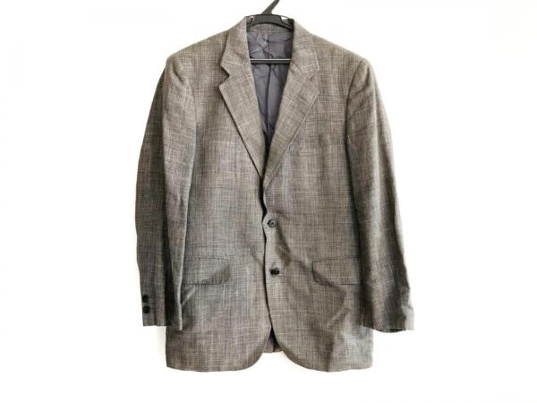 J.PRESS(ジェイプレス) ジャケット メンズ 黒×白 チェック柄
