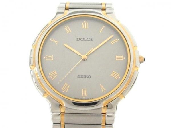 SEIKO(セイコー) 腕時計 ドルチェ 5E31-6C70 メンズ シルバー