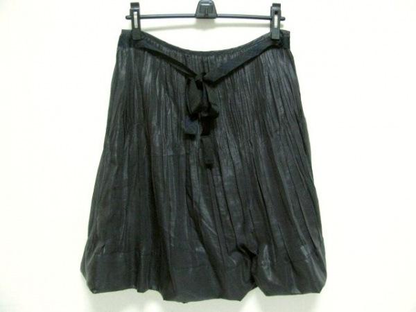 バーバリーロンドン バルーンスカート サイズ44 XL レディース美品  黒