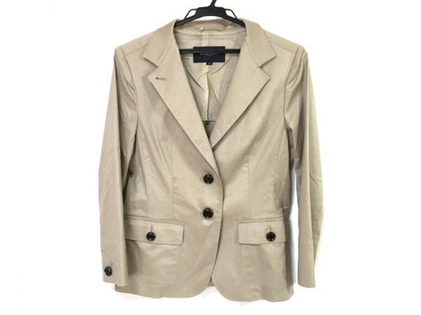 バーバリーロンドン ジャケット サイズ40 L レディース グレー 肩パッド