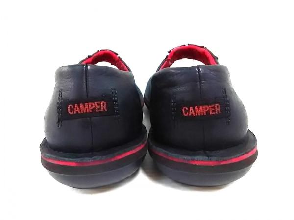 CAMPER(カンペール) シューズ 37 レディース 黒×レッド レザー