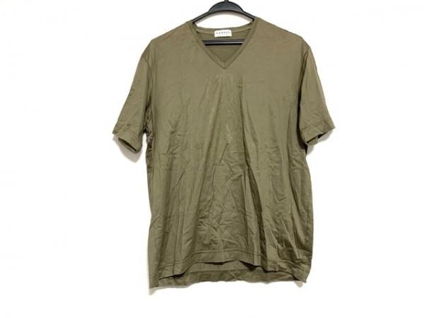LANVIN COLLECTION(ランバンコレクション) 半袖Tシャツ サイズL メンズ美品  カーキ