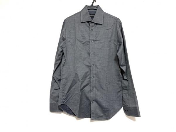 EMPORIOARMANI(エンポリオアルマーニ) 長袖シャツ サイズ38/15 メンズ美品  ドット柄