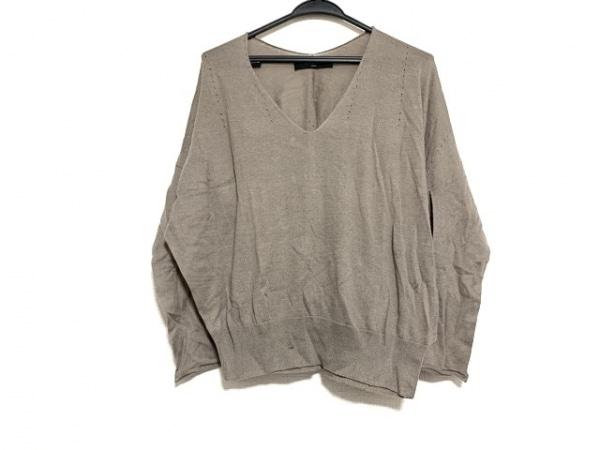 SACRA(サクラ) セーター サイズ38 M レディース美品  ブラウン
