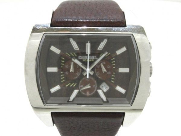 DIESEL(ディーゼル) 腕時計 DZ-4138 メンズ ダークブラウン