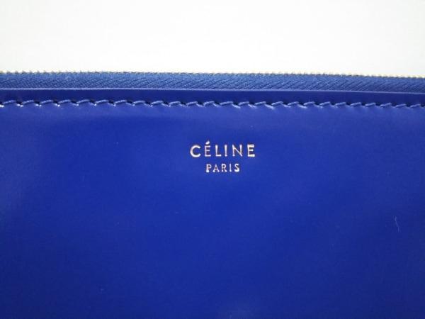 CELINE(セリーヌ) クラッチバッグ美品  - ブルー レザー