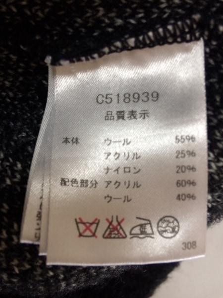 PICONE(ピッコーネ) ベスト サイズ2 M レディース 黒×白 ジップアップ
