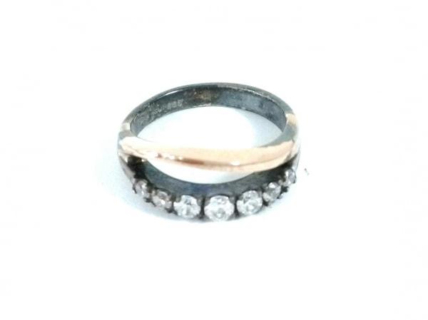 スタージュエリー リング - - K9YG×シルバー×ダイヤモンド 総7Pダイヤ