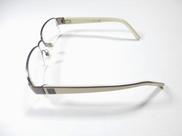 GUCCI(グッチ) メガネ美品  マイクロGG GG1846 クリア×ブロンズ×アイボリー 度入り