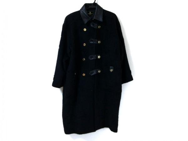 バレンザポースポーツ コート サイズ40 M レディース 黒×ゴールド 冬物