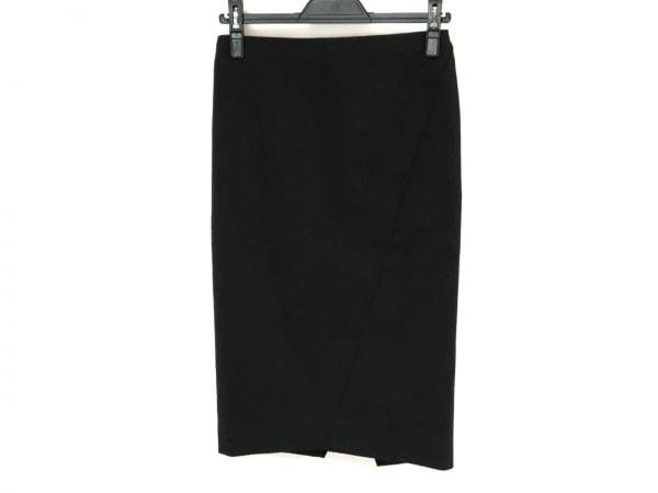 アルマーニコレッツォーニ スカート サイズ38 S レディース美品  黒