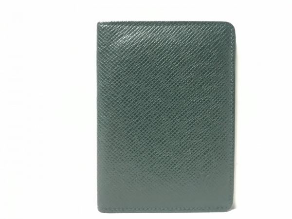 ルイヴィトン パスケース タイガ ポルト 2カルト ヴェルティカル M30494 エピセア