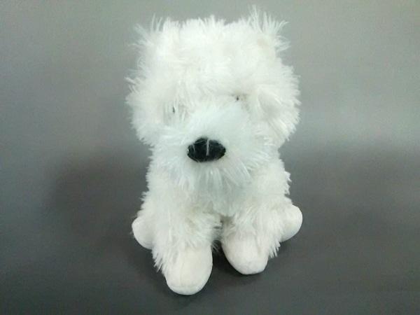 HARRODS(ハロッズ) ぬいぐるみ美品  白 犬 化学繊維