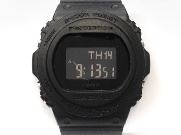 CASIO(カシオ) 腕時計美品  Baby-G BGD-570 ボーイズ 黒