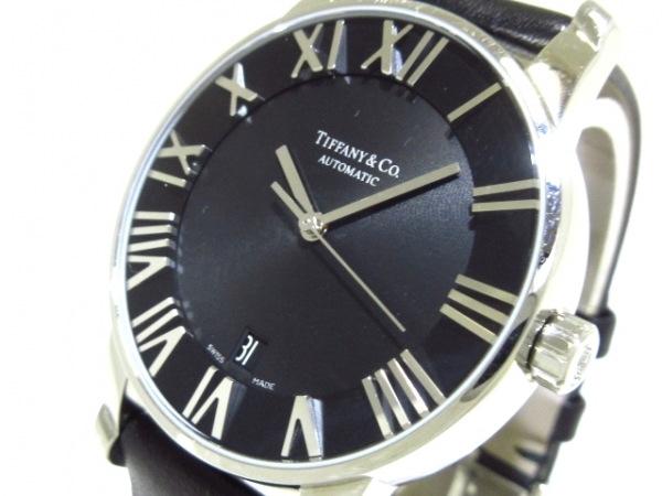 ティファニー 腕時計美品  アトラス ドーム Z1800.68.10.A10A50A メンズ 黒
