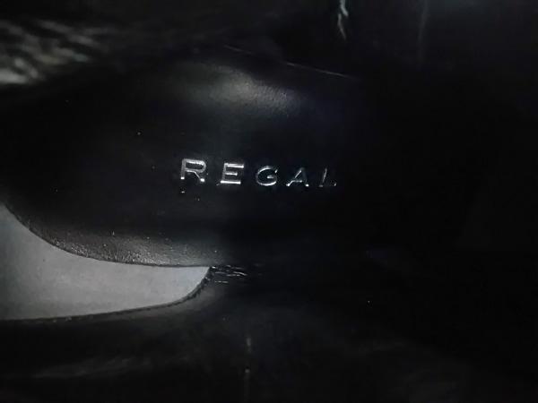 REGAL(リーガル) ロングブーツ 24 1/2 レディース 黒 スエード×レザー