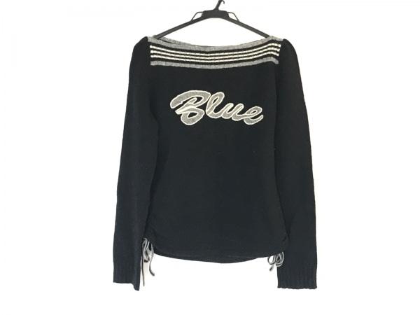 バーバリーブルーレーベル 長袖セーター サイズ38 M レディース 刺繍