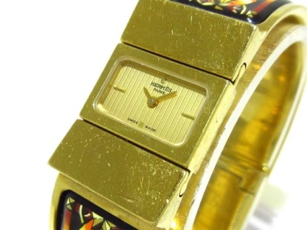 HERMES(エルメス) 腕時計 ロケ L01.201 レディース ゴールド
