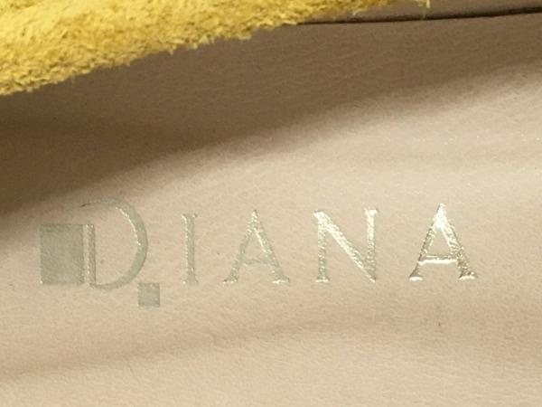 DIANA(ダイアナ) ローファー 23 2/1 レディース オレンジ ビジュー スエード