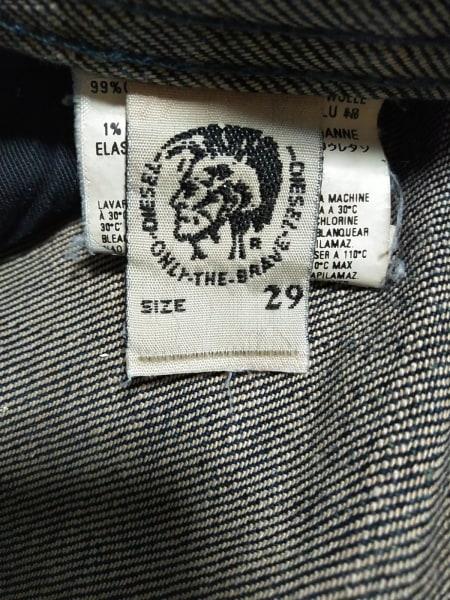 ディーゼル ジーンズ サイズ29 メンズ新品同様  BUMICS ブルー×ライトブラウン