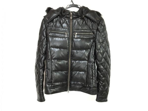 TORNADO MART(トルネードマート) ダウンジャケット メンズ 黒 ジップアップ/冬物