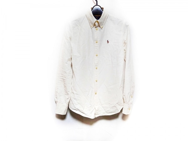 RalphLauren(ラルフローレン) 長袖シャツ サイズXS メンズ 白
