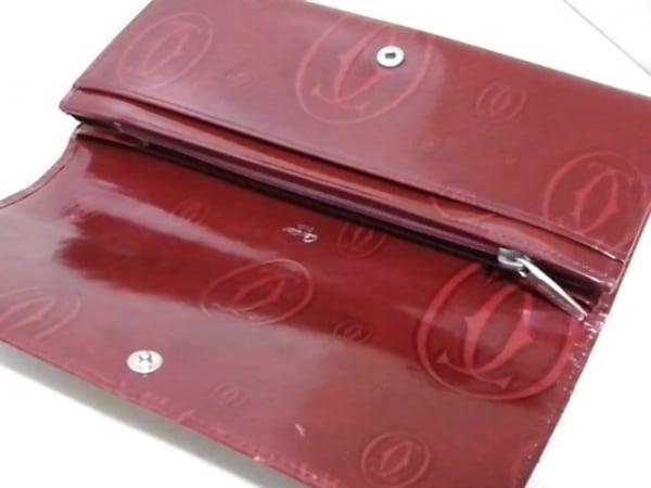 Cartier(カルティエ) 長財布 ハッピーバースデー レッド レザー 3